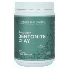 Edible Topical Bentonite Clay 500g Jar
