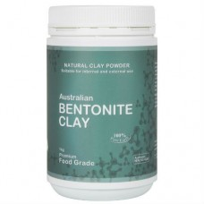 Edible Topical Bentonite Clay 1kg Jar