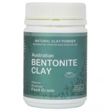 Edible Topical Bentonite Clay 250g Jar